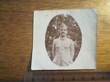 PHOTO ANCIENNE WW 1 N°1 Portrait militaire ROVILLE 1917