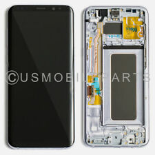 Cell display lens screens parts for samsung galaxy s ebay silver lcd screen touch screen digitizer frame replacement for samsung galaxy s8 thecheapjerseys Gallery