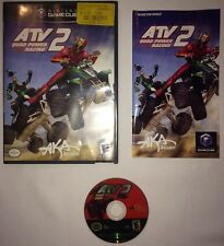 ATV 2 QUAD POWER RACING NINTENDO GAMECUBE COMPLETE CIB Fast Shipping