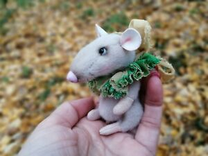 miniature teddy rat 2,9 inches