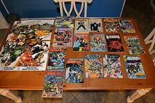 GREAT DC COMIC BOOK DEAL + FREE RARE 2 SIDED POSTER & THE SHADOW NIGHTMIST CYCLE