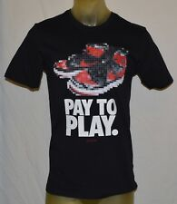 NIKE Air Jordan 1 Pay to Play 10/18/84 basketball T-shirt Mens Medium black M