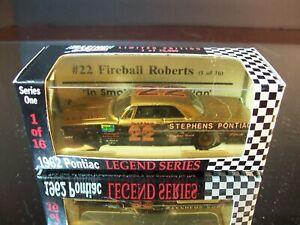 Fireball Roberts #22 Stephens Pontiac 1962 Pontiac Catalina RCCA 1:64