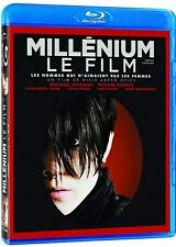 USED BLU RAY - MILLENIUM LE FILM - GIRL WITH THE DRAGON TATOO - NOOMI RAPACE