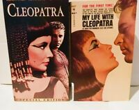 Cleopatra 1963 film (VHS 2-Tape Set and Movie Tie-In Paperback) Elizabeth Taylor