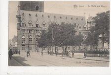 Gand La Halle Aux Draps Belgium Exposition Universelle 1913 Postcard 676a