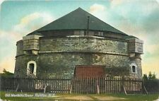 Halifax Nova Scotia~Old Martello~Prince of Wales Tower~Still Has Roof~1910 PC