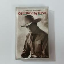GEORGE STRAIT Ten Strait Hits MAC10450 Cassette Tape