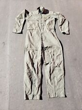 FLIGHT SUIT 40 OR 42 LONG NEW NOMEX US MILITARY CWU-27/P COVERALLS FLYERS. 3 AVA