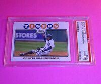 2008 Topps Dontrelle Curtis Granderson Tigers Baseball #330 PSA 10 Gem Mint