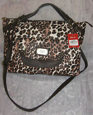 Relic Brown Leopard Purse Bag NWT Retail $68  #AS19