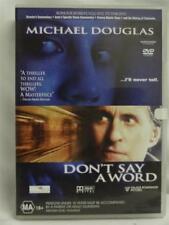 Don't Say A Word - Michael Douglas - DVD