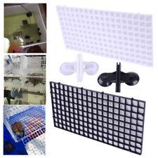 2pcs Grid Isolate Board Divider Fish Tank Bottom Filter Tray Aquarium Crate