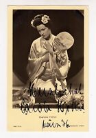 Carola Höhn - Originalautogramm auf alter Ross-Postkarte 9419/1