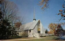 Hazelwood Indiana Christian Church~1000 University Ave~Late Autumn 1963