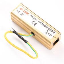 Us Rj-11 Thunder Arrester Telephone Fax Lightning Surge Signal Protection
