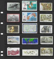 South Africa 12  stock sheets  large mix collection stamps