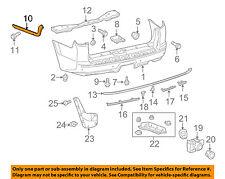 TOYOTA OEM 10-16 4Runner Rear Bumper-Side Retainer Bracket Left 5215635050