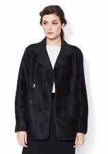 NWT MARC BY MARC JACOBS SzS ODA MAE DOUBLE BREASTED COAT CHARCOAL MELANGE $698.