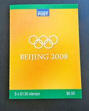 Australian Stamps: 2008 - Beijing 2008 Olympics Booklet - Cyclist