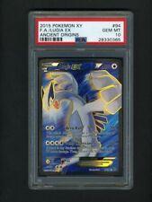 Pokemon PSA 10 GEM MINT LUGIA Full Art XY Ancient Origins English Card 94/96
