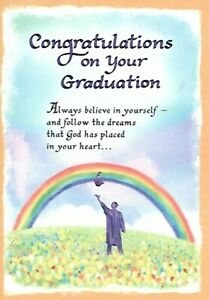 BLUE MOUNTAIN ARTS - CONGRATULATIONS ON YOUR GRADUATION ALWYAS BELIEVE YOURSELF