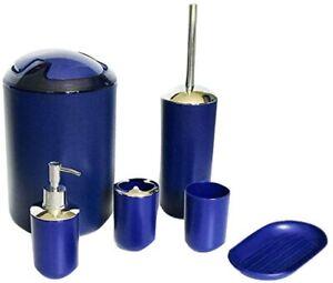 Blue Bathroom Accessories For Sale Ebay