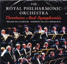 ROYAL PHILHARMONIC ORCHESTRA - OVERTURES AND SYMPHONIES (NEW SEALED CD)