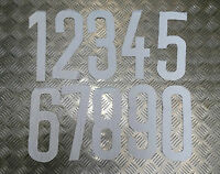 Genuine Vintage West German Military Sports Sew on Numbers 1-14  BRAND NEW