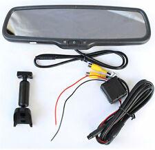 4.3'' Car DVR Dual Lens Camera 720P Rear View Mirror Video Dash Cam Monitor