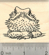 Bearded Dragon Rubber Stamp, Australia, Reptile H26838 WM