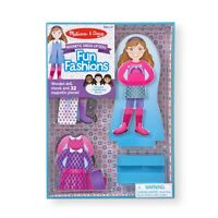 Fun Fashions Magnetic Dress-Up Set by Melissa & Doug 3+