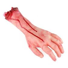 Halloween Broken hand Props Bloody Latex Horror Scary Prop Fake Severed Arm Hand