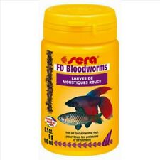 Sera Freeze Dried FD Bloodworms Fish Food (100ml)