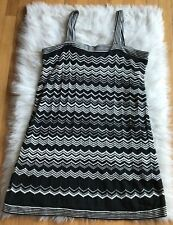 Missoni For Target Women's Size XL Black White Sweater Tank Dress Preowned