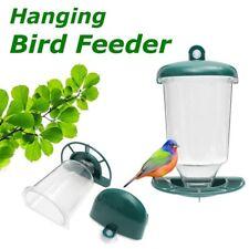 Automatic Wild Window Bird Feeder Seeds Feed Hanging Suction Cup Garden Feeding