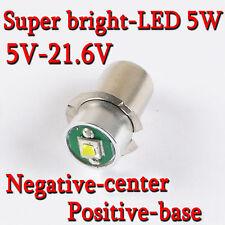 1PCS 6000K CREE LEDs Bulbs for Panasonic 18V 15.6V 12V Dolphin torch Flash Light