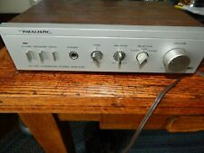 Realistic Sa-150 Integrated Stereo Amplifier Model 31-1955 Vintage