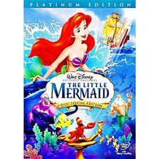 The Little Mermaid (DVD, 2006, 2-Disc Set, Platinum Edition) NEW