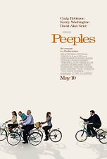 Peeples Original D/S Rolled Movie Poster 27x40  Craig Robinson  Tyler Perry 2013