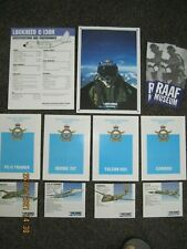 Royal Australian Air Force recruiting brochures dating from mid 1970's & forward