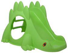 Ondis24 Rutsche Kinderrutsche Drache grün Gartenrutsche mit Leiter 1-3 Jahre