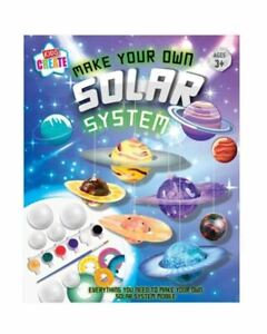 Kids Create Make Your Own Solar System Science Space Planet For Children's Craft
