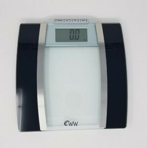Weight Watchers by Conair Body Analysis Glass Bathroom Scale, Measures BMI