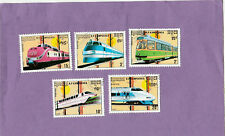 Eisenbahnen-Kambodscha-Kompl.-Satz-1989--gestempelt