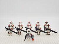 Star Wars Commander Neyo 91st Clone Troopers 11pcs Army Set