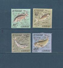 Gabon   faune   poissons   de 1975   num:  347/50  **