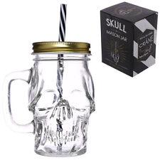 Mason Jar cráneo en forma-Calaveras-bebidas-cóctel - LIMONADA-Batido De Regalo