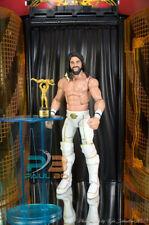 WWE AEW ROH WCW ECW IMPACT NXT MATTEL K ELITE 45 SETH ROLLINS RARE