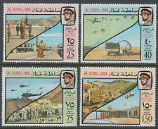 Oman 1976 ** Mi.172/75 Helikopter Fallschirmspringer